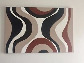 Decorative Wall Canvasses - One off hand painted & signed by artist