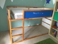Ikea mid/low sleeper child bed bunk