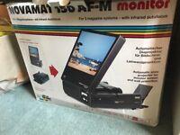 Novomat 150 AFM monitor slide projector