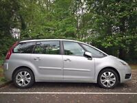 Full Year MOT! CITROEN C4 PICASSO 7 SEATER 2.0 GRAND VTR,2007,Air Con,Cruise Control,Low Mileage