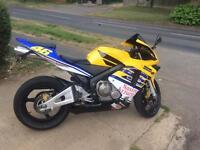 Honda cbr 600rr 53 plate looks and rides very well