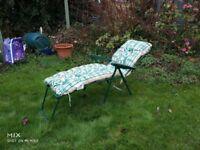 Folding Garden Lounger