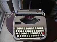 Vintage Willy Scheidegger Princess Matic Typewriter Swiss Typing School London