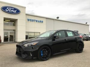 2017 Ford Focus RS includes winter tires