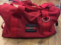 POLO Ralph Lauren Sport Holdall Bag Red *100% Authentic*