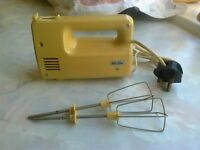 Vintage 1970's East German Electric Hand Whisk
