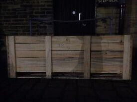 1 wood box