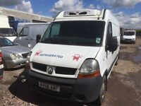 Vauxhall Movano Renault master fridge 2.5 diesel 6 sipped gearbox spare parts breaking