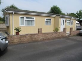 PRIVATE 1 BEDROOM RESIDENTIAL PARK HOME - MILLSTONE PARK, NE WALES – 40 x 14 FOOT ON 450 SQ M PLOT