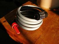 Chunky Combination lock. Bike lock