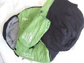 HiGear Childs Ridgeline Convertible 3 Season Sleeping Bag