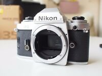 Nikon FG 35mm Film Camera Body