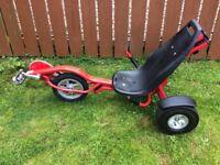 TRIKER (trike) rocker 3 wheeler, great fun outdoor toy!
