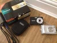 Fujifilm Finepix digital cameras 8.2 & 6.3 mp each