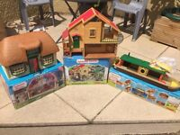Sylvanian Houses and Barge
