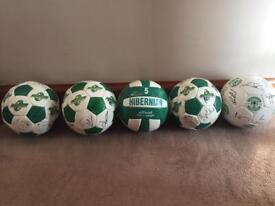 Hibernian FC Footballs