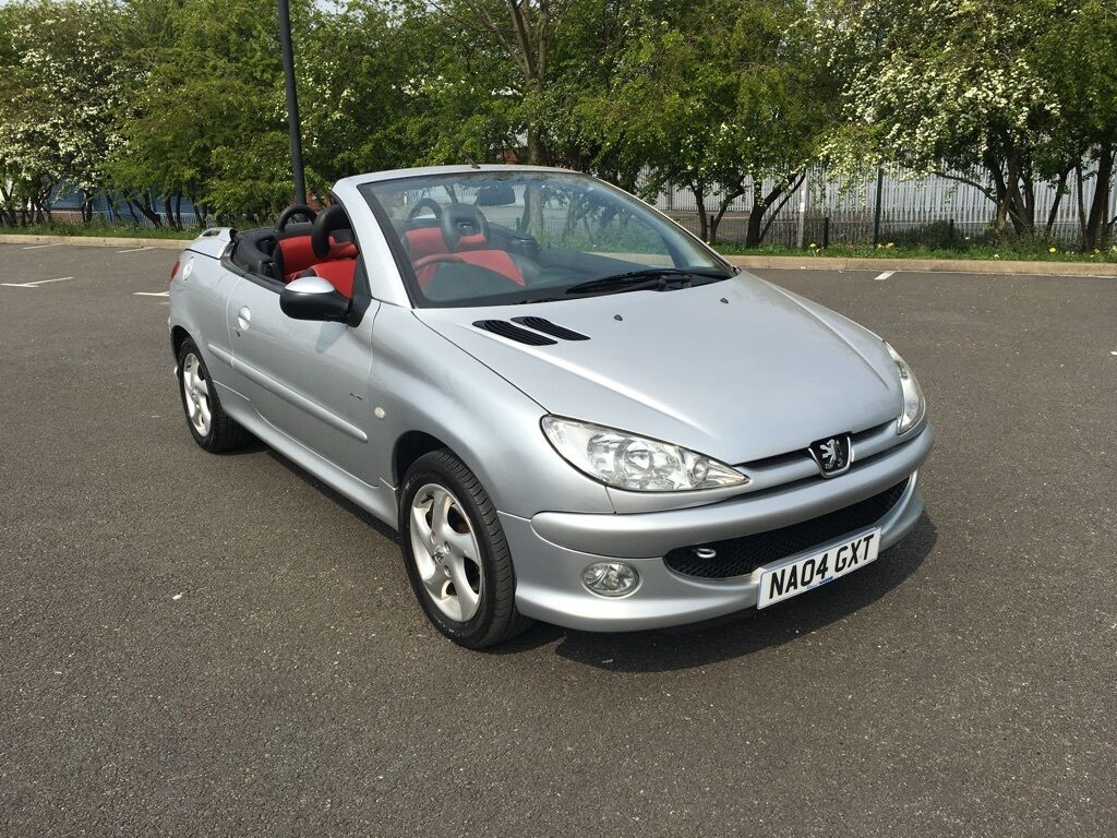 peugeot 206 cc 1 6 allure 2dr a c silver 2004 in walsall west midlands gumtree. Black Bedroom Furniture Sets. Home Design Ideas