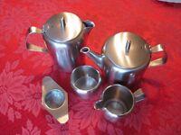 Old Hall Stainless Steel Tea Set