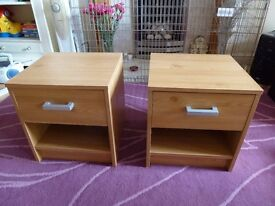 2 Bedside Tables (Napoli Design)