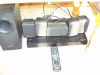 PANASONIC SURROUND SOUND SYSTEM 5 IN 1 WITH DVD PLAYER MODEL SA-PT480 TOTALPOWER 1000 WATS