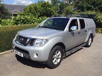 Nissan Navara 2.5 dCi Tekna 4dr Manual 2.5L Diesel. 2011. 52,500 miles.