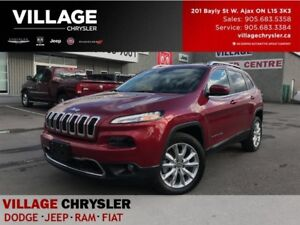 2017 Jeep Cherokee Limited|Tech Group|Nav|Leahter|Remote