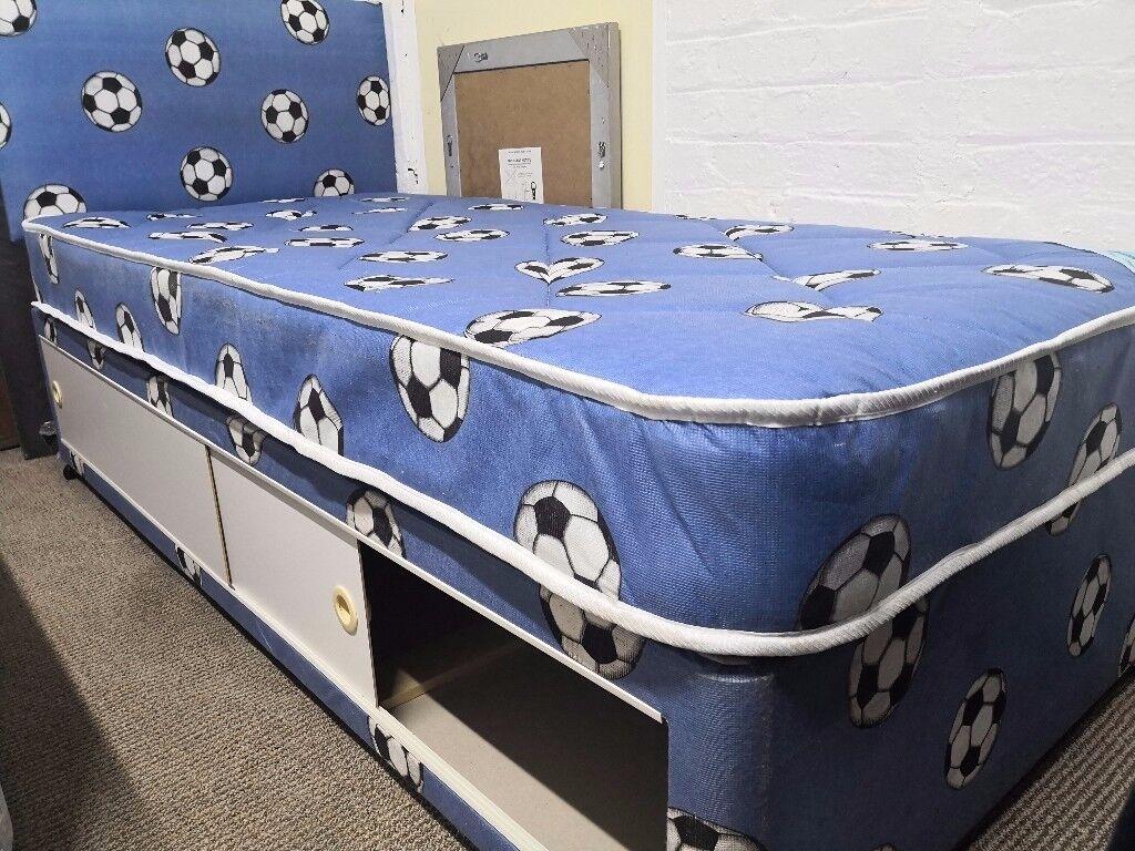 Single Boys Bed With Storage Drawers In Kelvinbridge