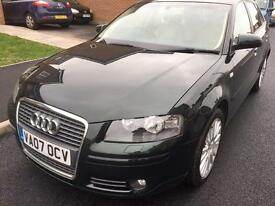 2007 AUDI A3 2.0L TDI SE SPORTBACK 5 DOOR ONE OWNER FROM NEW FULL SERVICE HISTORY 6 SPEED GERBOX***