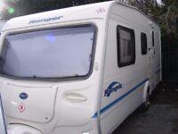 2004 Bailey Ranger 500/5, five berth, end bedroom caravan