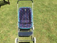 Silver Cross child's toy pushchair as new