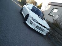 1996 SUBARU WRX STI CLASSIC NEVER BEEN WELDED NICE RELIABLE CAR MAY PX NO OFFERS