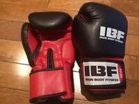 Boxing gloves used twice in the last year