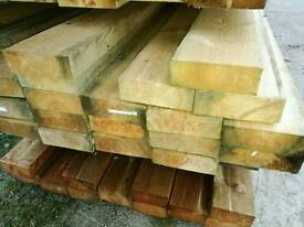 "6 x 2 1/4"" Rough Sawn Timber 4.2mtr Lengths"