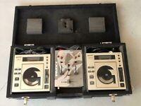 Gemini DJ10 decks