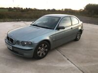 Bmw 316 2002 compact pertol in good condtion throughout
