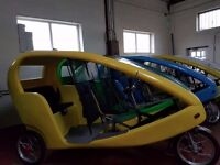 100% Electric )padicabs taxi for sale