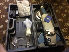 xPro XP230 Angle Grinder in Hard Case with 2 Discs