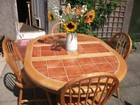 FARMHOUSE DINING TABLE & CHAIRS