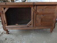 1 Tier Wooden Guinea Pig/Rabbit Hutch