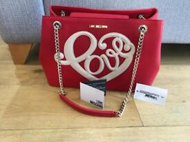 Red moschino bag RRP 289