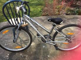 Giant GSRF5 silver Omni 191 cl girls bike