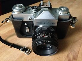 Zenit-B Soviet film camera