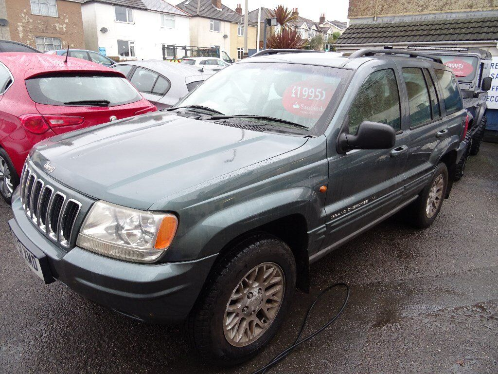2001 jeep grand cherokee 2 7 crd limited station wagon 4x4 5dr diesel automatic