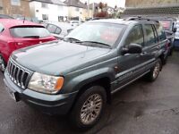 2001 Jeep Grand Cherokee 2.7 CRD Limited Station Wagon 4x4 5dr - DIESEL AUTOMATIC