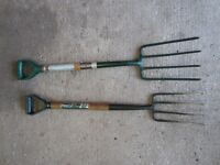 Garden Forks - large and small