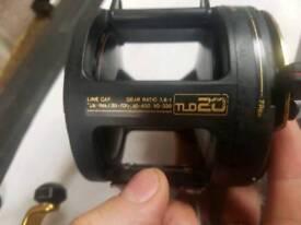 Shimano triton tld20 lever drag