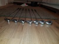 Used cobra s9 irons been used but great set of irons.
