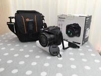 Panasonic DMC-FZ72 camera with case,