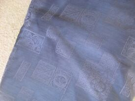 Two pairs navy curtains