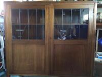 Vintage Cooke's (Finsbury) Ltd bookcase cabinet